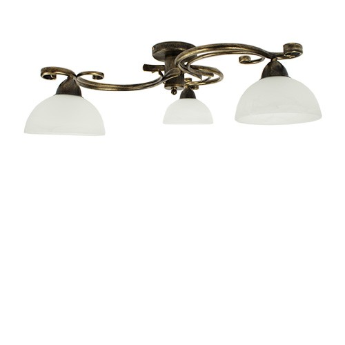 klassieke plafondlamp woon slaapkamer straluma