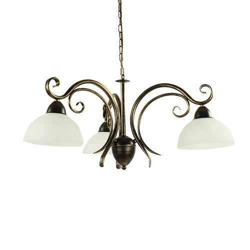 Klassieke hanglamp zwart goud eettafel straluma for Klassieke hanglamp