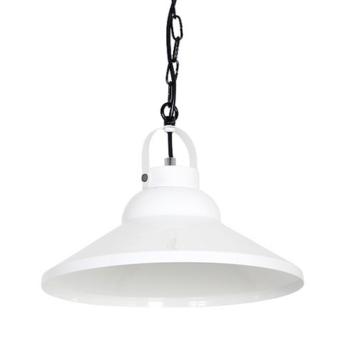 *Hanglamp industrie wit keuken-bar-hal