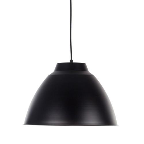 *Enkele hanglamp industrie zwart