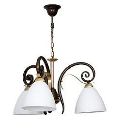 *Hanglamp klassieke kroon goud-hooglans