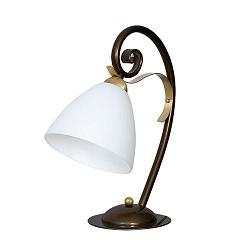 *Chique tafellamp hoogglans met goud