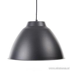 *Industriële hanglamp antraciet