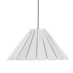 *Ronde eettafel hanglamp wit metaal