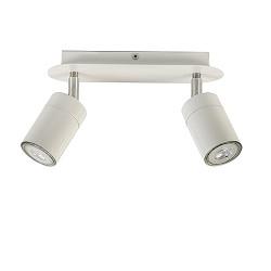 Plafondspot 2-lichts wit modern