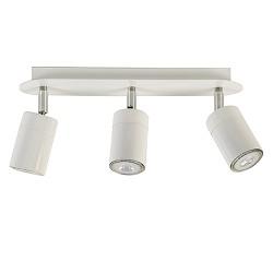 Moderne plafondspot 3-lichts wit