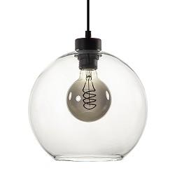 Hanglamp bolglas helder 25cm
