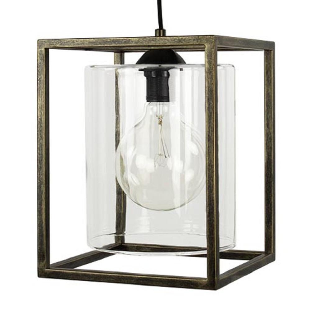 *Strak klassieke hanglamp lantaarn frame