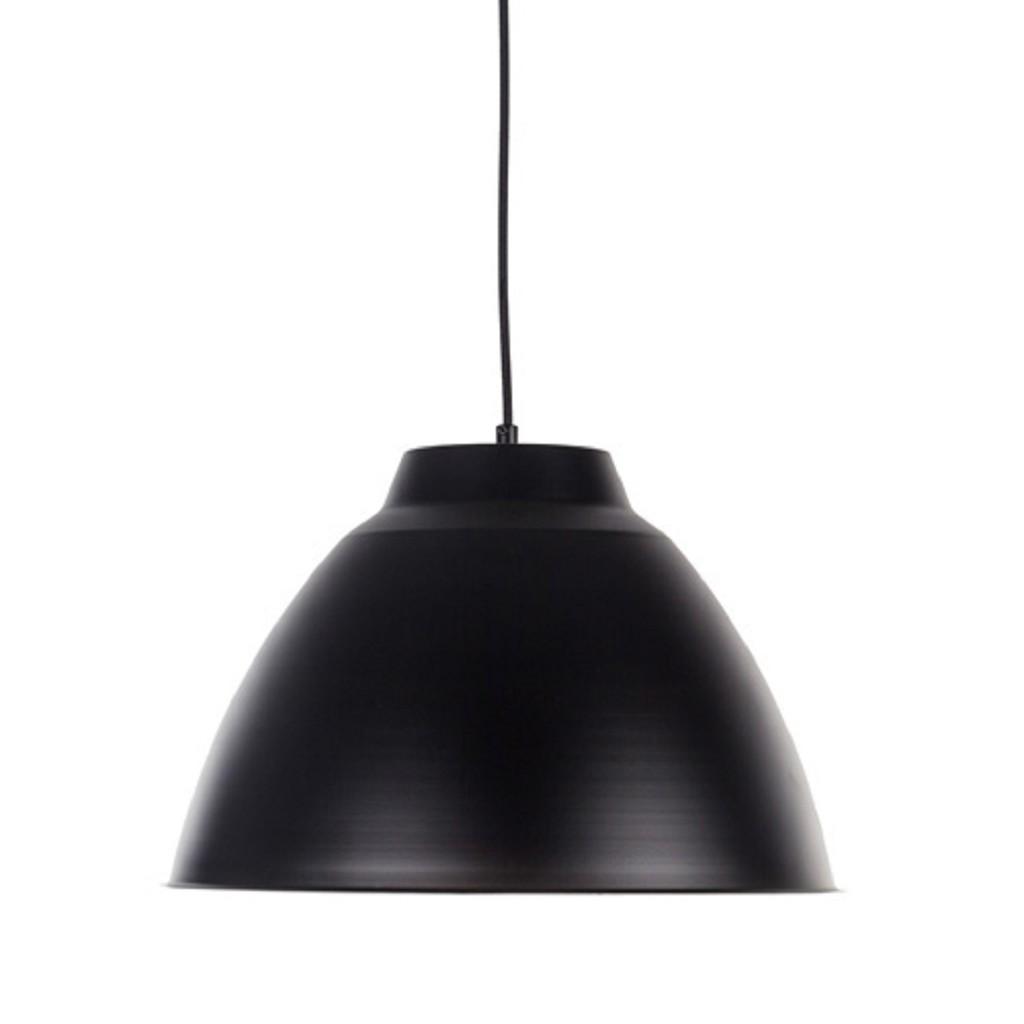 Enkele hanglamp industrie zwart