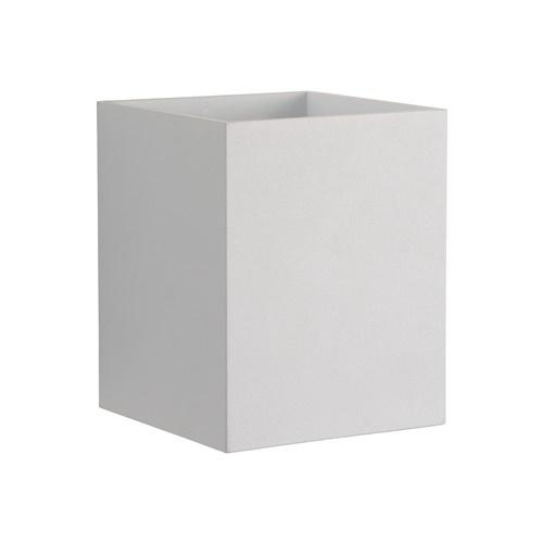 Wandlamp kubus wit G9