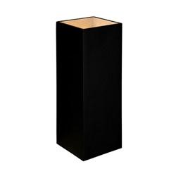 Design wandlamp zwart vierkant koker