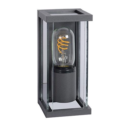 Wandlamp buiten antraciet/glas  IP54