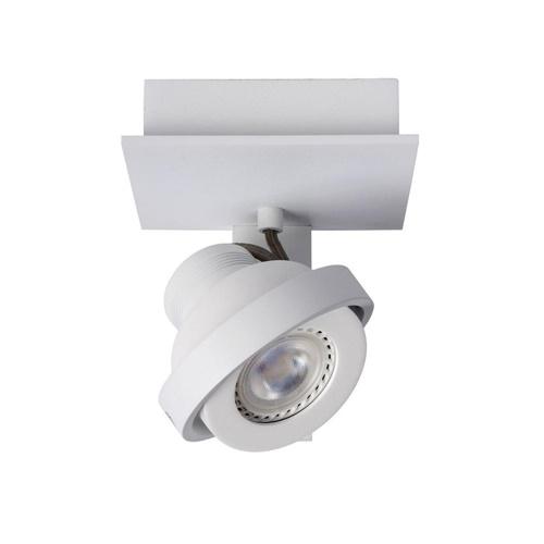 Modern industriële plafondspot dim to warm LED