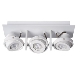 Plafondspot 3-lichts balk wit dim to warm