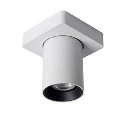 Plafondspot tube 1-L wit incl.gu10 dtw