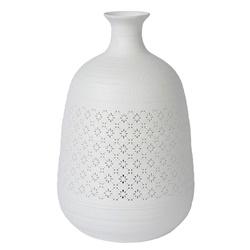 Sfeervolle tafellamp wit porselein decoratief