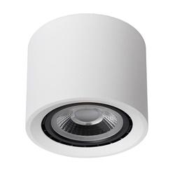 Plafondspot cilinder wit dim to warm