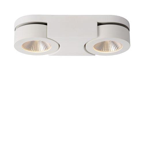 **Moderne LED plafondlamp wit woonkamer