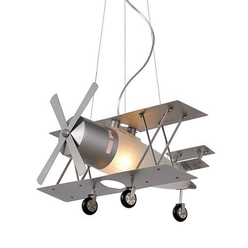 Jongenskamer hanglamp Fokker vliegtuig