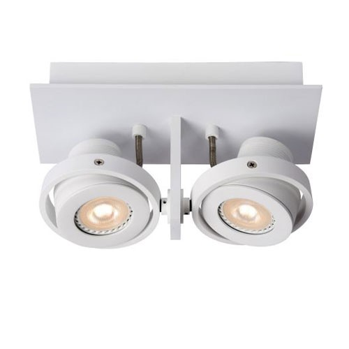 Landa opbouwspot LED 2-lichts wit