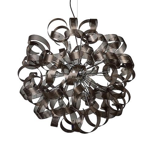 **Grote hanglamp-videlamp bol