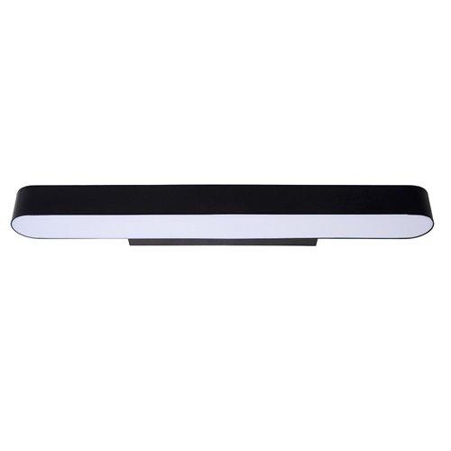 Moderne LED badkamer wandlamp zwart 60 cm