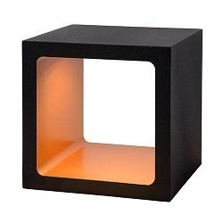 **Zwarte tafellamp Xio Led met goud