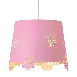 *Roze hanglamp Deborah meidenkamer
