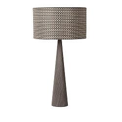 *Conos tafellamp hout dressoir, nachtk