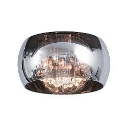 Plafondlamp smokey glas Pearl
