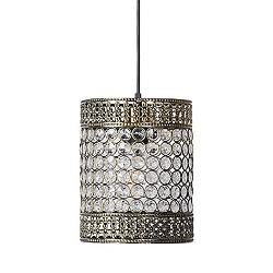 *Orientaalse hanglamp Byzantium brons