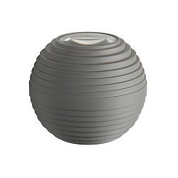Wandlamp bol grijs IP54 3000k niet dimb.