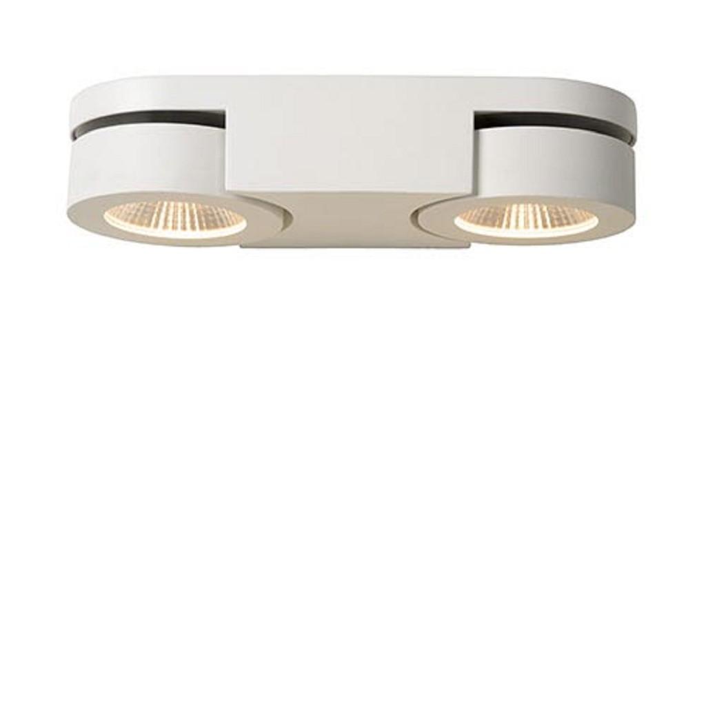 Verstelbare LED wandlamp wit