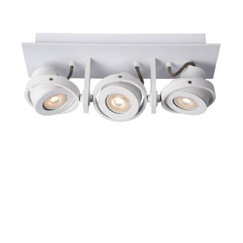 3-lichts opbouwspot Landa LED wit
