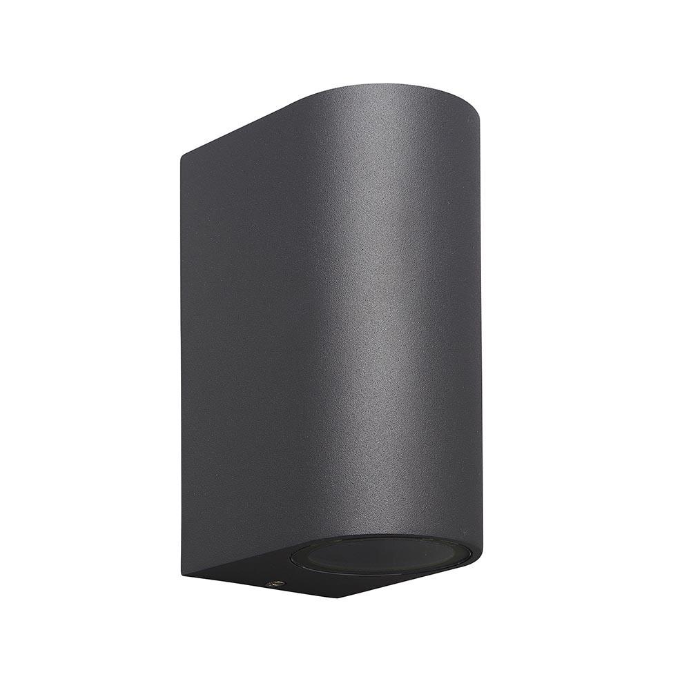 Buitenlamp afgerond up+down antra. IP54