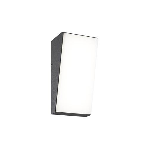 Verticale LED buitenlamp IP65 antraciet