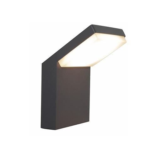 Moderne buitenlamp wand inclusief geïntegreerd LED