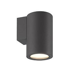 Buiten wandlamp downlight antraciet IP54