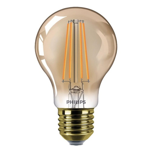 Philips LED 8W E27 flame dimbaar