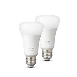 Philips Hue white E27 lamp warm wit Bluetooth 2-pack