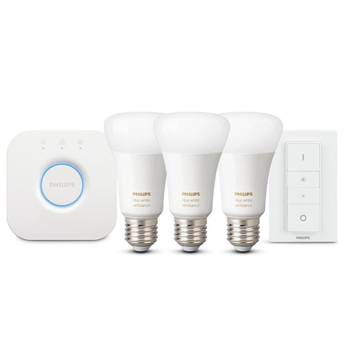 Philips Hue white ambiance starter kit E27 met Bluetooth