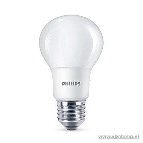 *Philips LED lamp 6W=40W E27 dimbaar