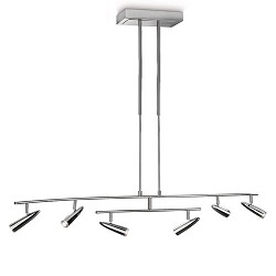 *Hanglamp Philips InStyle LED chroom
