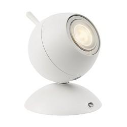 Kleine design LED tafelspot wit