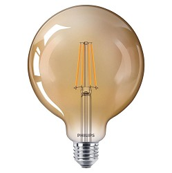 Vintage LED 50W G120 E27 Gold dimbaar