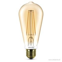 Led 7w=50w e27 peer gold filament dimbaa