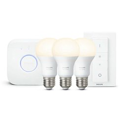Hue starterkit 3xe27 2700k,bridge,switch