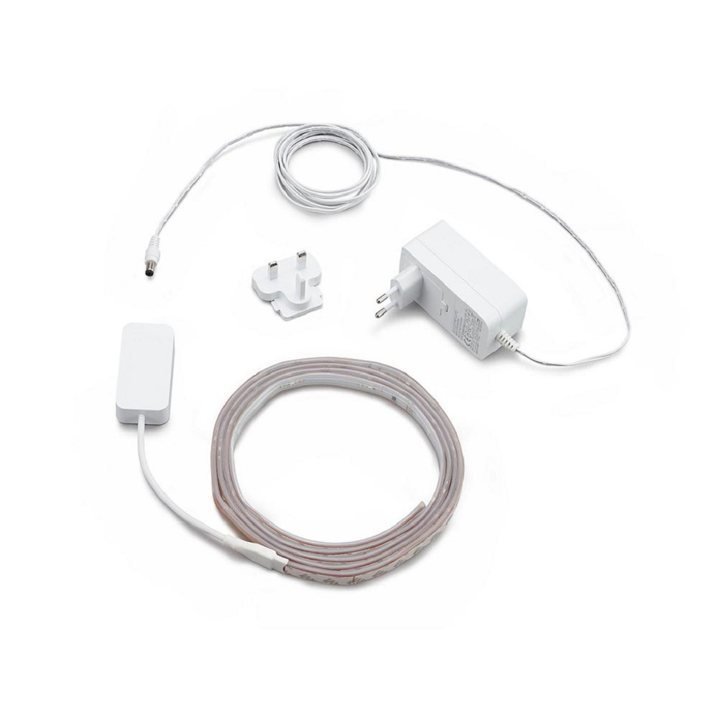 Philips Hue ledstrip rgbw 2mtr set+adapter
