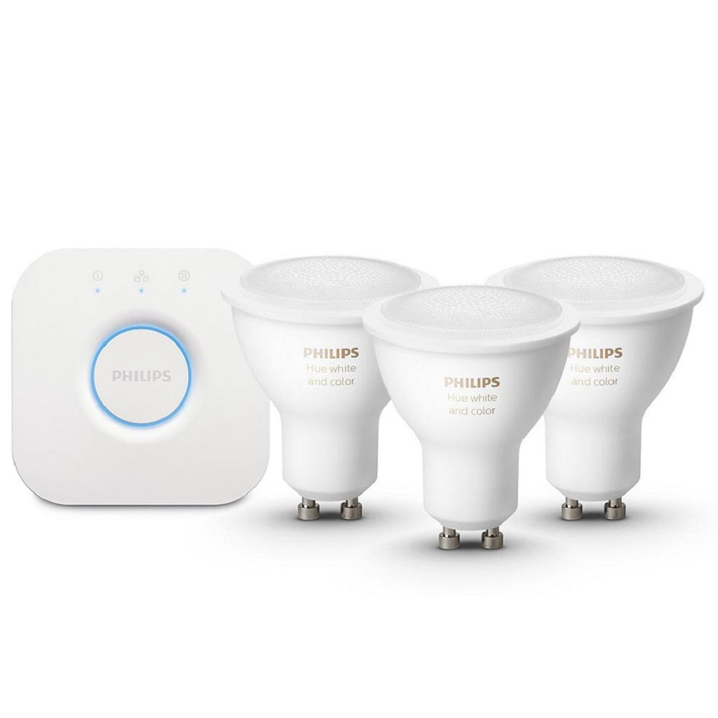 Philips Hue white and color ambiance starter kit GU10 met Bluetooth