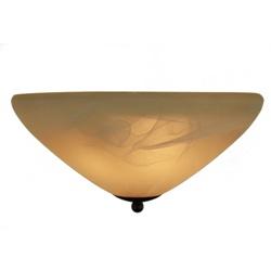 Klassieke plafondlamp rond slaapkamer